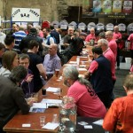 Gloucester CAMRA Beer and Cider Festival - an impressive range of ales and ciders, plus a selection of wine and prosecco